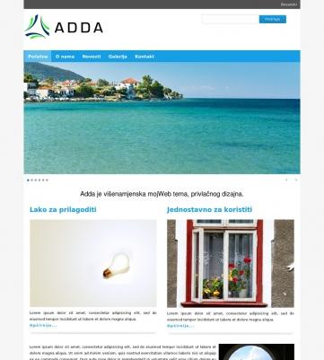 Adda – Plavo bijela