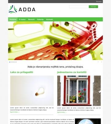 Adda – Zeleno bijela