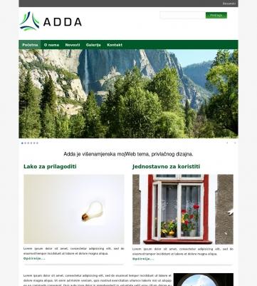 Adda – Tamno zelena
