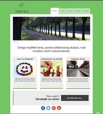 Onega – Zeleno bijela