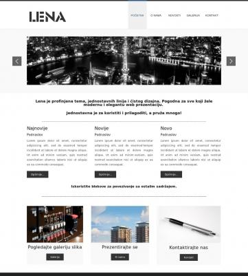 Lena – Plavo bijela