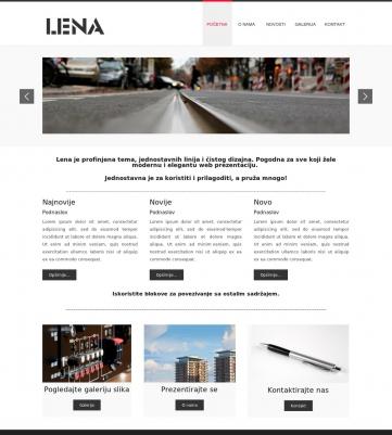 Lena – Crveno bijela