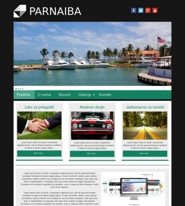 Parnaiba – Crno zelena