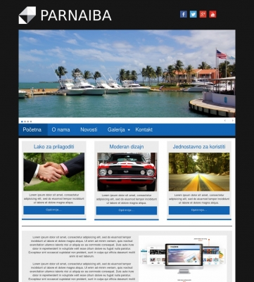 Parnaiba – Crno plava