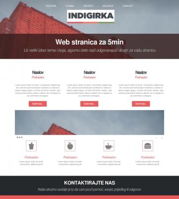 Indigirka – Crvena