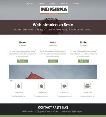 Indigirka – Zelena