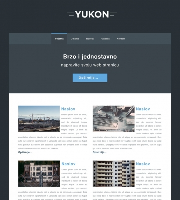 Yukon – Plava