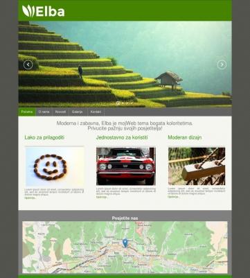 Elba – Zeleno siva