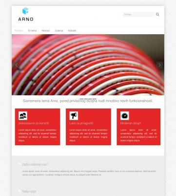 Arno – Crveno bijela
