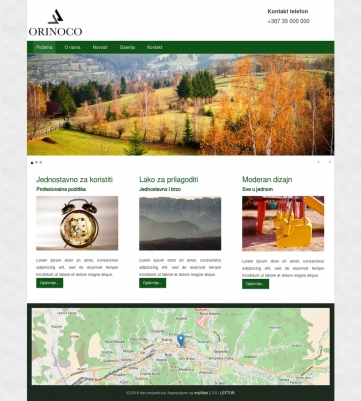 Orinoco – Zeleno bijela