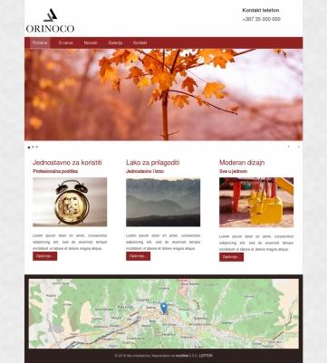 Orinoco – Crveno bijela