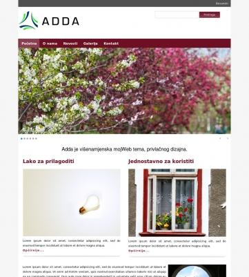 Adda – Ljubicasto bijela