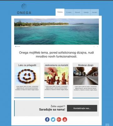 Onega – Plavo bijela
