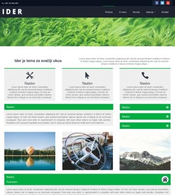 Ider – Zeleno bijela