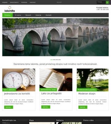 Ialomita – Zeleno bijela