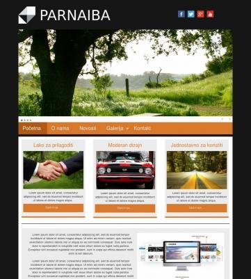 Parnaiba – Crno narandžasta