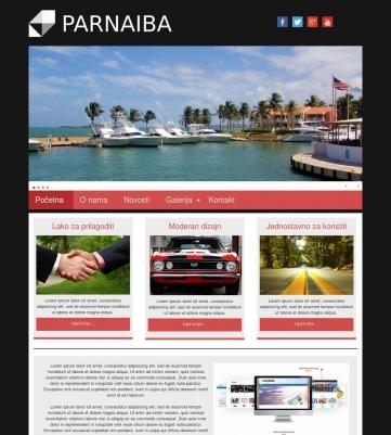 Parnaiba – Crno ružičasta