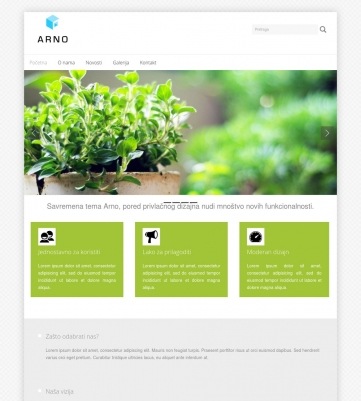 Arno – Zeleno bijela