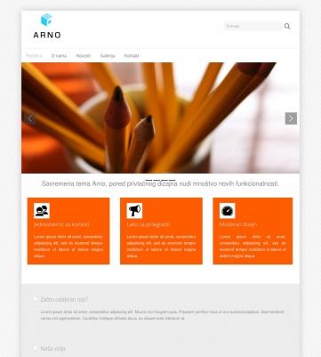Arno – Narandžasto bijela