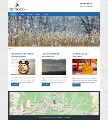 Orinoco – Plavo bijela