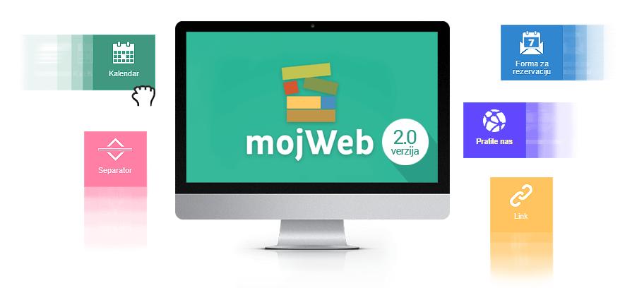 Dostupna je mojWeb 2.0 verzija, pogledajte šta vam donosi!
