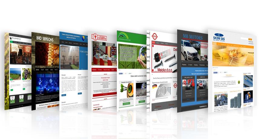 Trebate inspiraciju? Pogledajte stranice mojWeb klijenata!