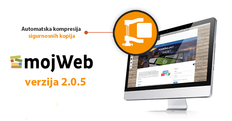 Objavljena mojWeb verzija 2.0.5