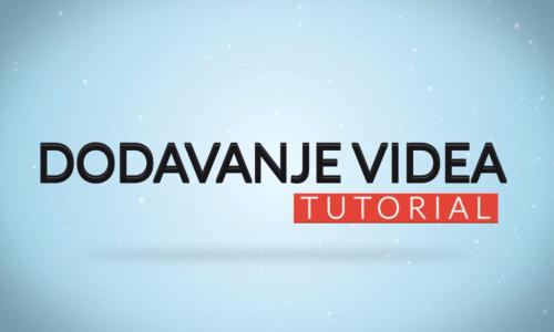 Dodavanje videa